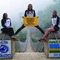 Three Local Penn State University Women Help Build a Suspension Bridge in Rwanda
