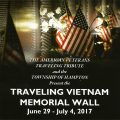 The Traveling Vietnam Memorial Wall  Makes Its Way to Our Region